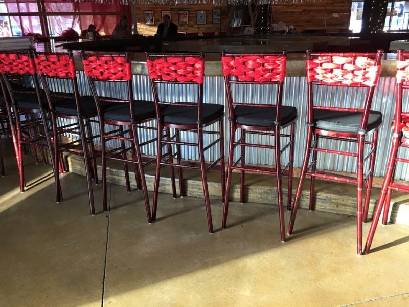 WeddingBarstools
